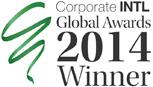 Corporate INTL Global Awards 2014 Winner